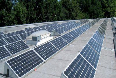 Photovoltaikanlage bei D+L