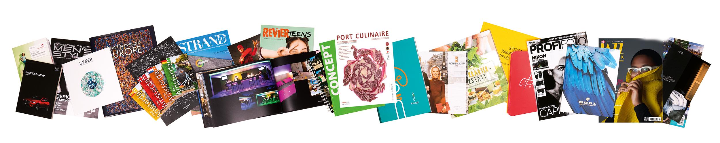 Magazine drucken bei D+L Printpartner in Bocholt (NRW)
