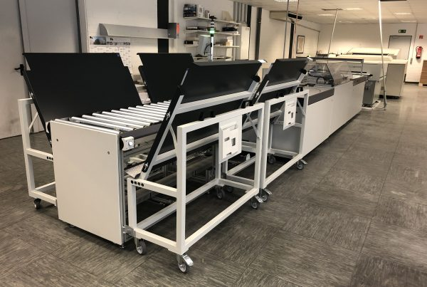 Vollautomatische Druckplattenproduktion